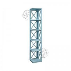 2021 High quality Wooden Ladder Shelf - 5 Tier Corner Cross Bookcase Display Storage Rack Bookshelf for Home Office 502086 –  NuTrend