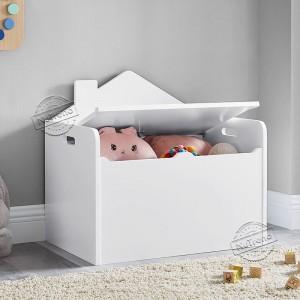 House Shape Kids Toy Box Storage Chest Kids Furniture 708060