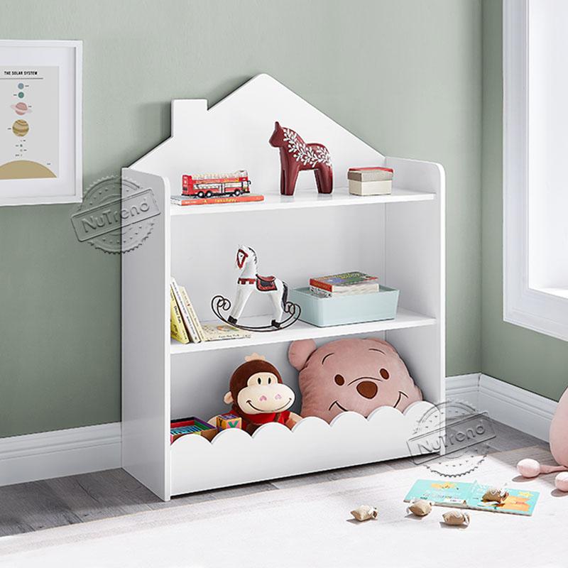 Kids 3 Tier Storage Bookcase Toy Storage Organizer Kids Furniture 708062