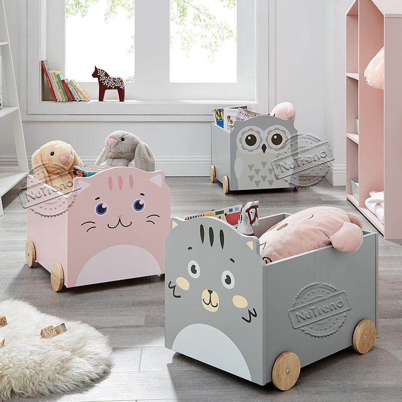 Animal Storage Toy Box for Kids 708065